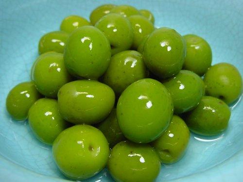 小豆島産 オリーブ新漬け 100g袋入り (大森屋 季節限定漬物)