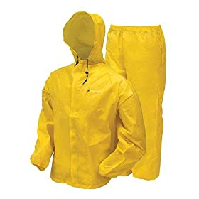 Frogg Toggs Men's Ultra Lite Rain Suit, Yellow, Large