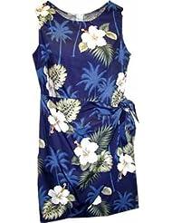 Hawaiian Dress on Tree Hibiscus Hawaiian Dress   Womens Hawaiian Dress   Aloha Dress