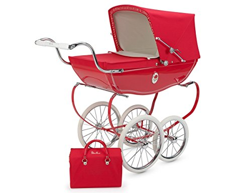 Silver Cross Chatsworth Doll Pram Poppy - 1