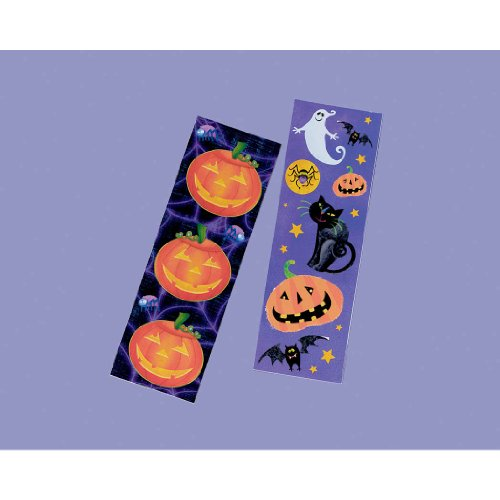 Halloween Fun Sticker Strips - 1