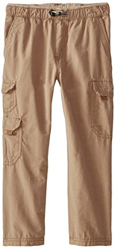 Unionbay Little Boys' Ollie 360 Cargo Solid Pant, Lion, 7