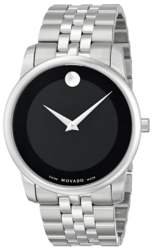 "Movado Men's 0606504 ""Museum"" Stainless Steel Watch"