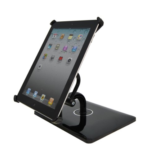 Intelligent Touch i360 Multi Position Stand for iPad 2 - High Gloss Black