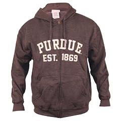 Purdue University Boilermakers Classic Full Zip Hoodie by NCAA