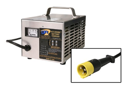 36 Volt 18 Amp Golf Cart Charger With Starcar 3-Pin Round Connector