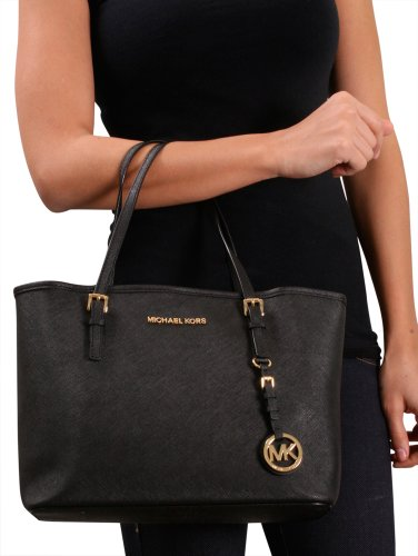 Bolsa Michael Kors Jet Set Saffiano : Michael kors women s jet set saffiano small travel tote