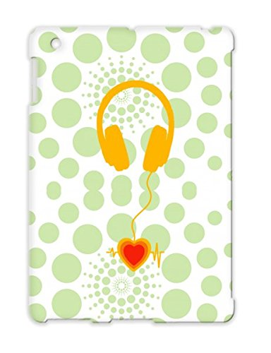 Music Beats Orange Shatterproof Protective Hard Case For Ipad 3 Gold Tune Headphones Skool Jazz Headphone Passion Trance Dance Old Beat Music Nano Orange Valentine Ipod Base Love Valentines Retro Old Speaker Devotion House