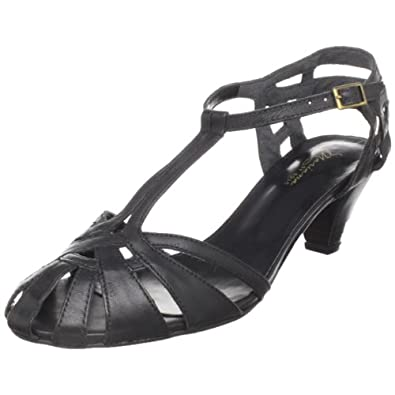 Mariana by GOLC Women's Sam Sandal,Black,36 M EU (US Women's 5-5.5 M)
