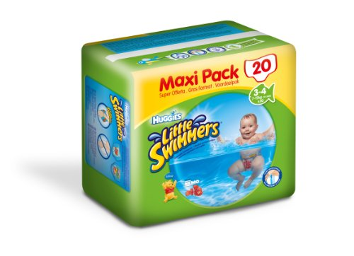 Huggies little swimmer maxi pack change x20 taille 3/4