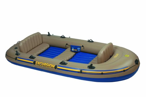Intex 68325 - Schlauchboot-Set &quot;Excursion 5&quot; 366 x 168 x 43 cm