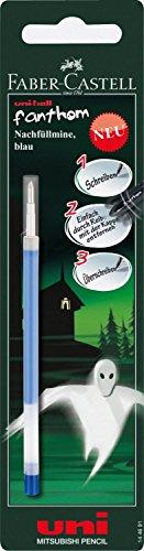 Mitsubishi 144691 uni-ball-recharge pour stylo, fanthom effaçable, 0,4 mm (bleu)