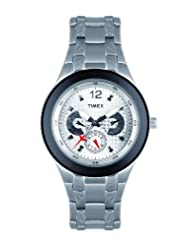 Timex E Class Multi Function  Chronograph Silver Dial Men's Watch TI000F90500