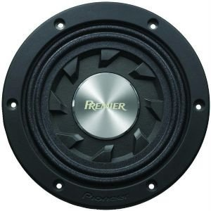 """New Pioneer Ts-Sw841D 8"""" Shallow-Mount Subwoofer (Car Stereo Subs)"""