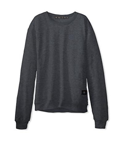 Kinetix Men's Solid Sweatshirt