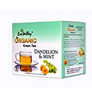 Eco Valley Organic Green Tea, Dandelion and Mint, 25 Tea Bags