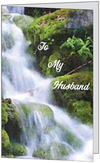 Valentines Day Love Spouse Husband Waterfall