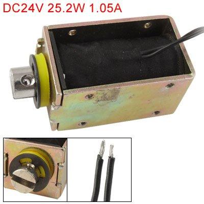 Dc 24V 25.2W Open Frame Electromagnet Linear Solenoid front-166512