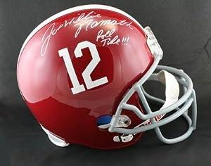 Joe Willie Namath SIGNED Alabama Crimson Tide F S Helmet ITP AUTOGRAPHED - PSA DNA... by Sports+Memorabilia