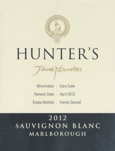 2012 Hunters Marlborough Sauvignon Blanc 750 Ml