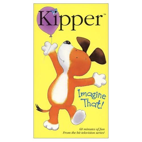Amazon.com: Kipper - Imagine That [VHS]: Martin Clunes, Chris Lang