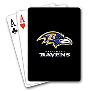 NFL Baltimore Ravens Playing Cards