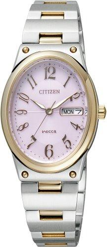 CITIZEN (シチズン) 腕時計 wicca ウィッカ Eco-Drive エコ・ドライブ デイデイトシリーズ NA15-1327A レディース