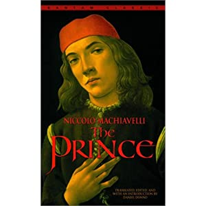A biblical perspective on the prince by niccolo machiavelli
