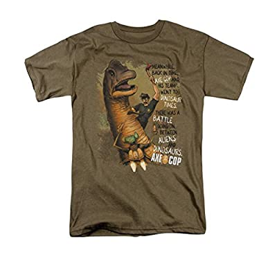 Axe Cop Aliens And Dinosaurs T-Shirt