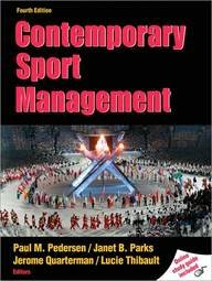 Contemporary Sport Management, 4th Edition