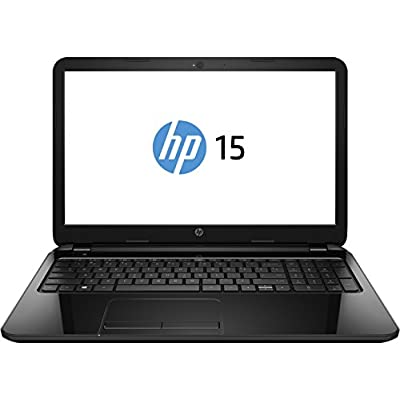 HP 15-R074TU 15.6-inch Laptop (Core i3 4005U/4GB/1TB/DOS/Intel HD Graphics 4000/with Laptop Bag), Black