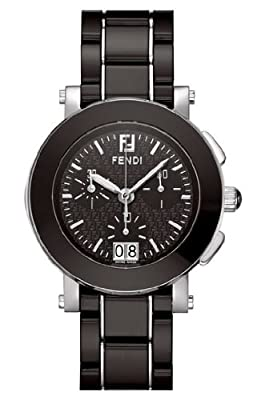 Fendi Women's F661110 Ceramic Stainless Steel and Ceramic Bracelet Watch