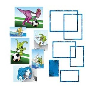 Hip In a Hurry 3D Decor Cut Outs 13 Inch -Dino #2 - 1