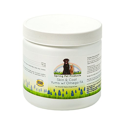 Spring pet skin and coat yums omega 3 fatty acids for Small fish oil pills