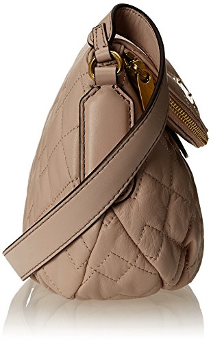 Marc by Marc Jacobs New Q Quilted Mini Natasha Cross Body Bag, Cement, One Size