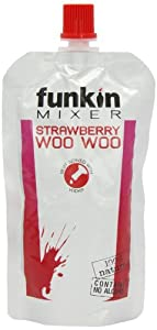 Funkin Strawberry Woo Woo Cocktail Mixers 120g (Pack of 8)