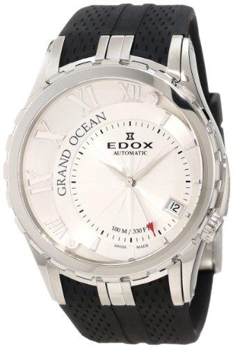 EDOX 80080 3 AIN - Reloj de pulsera hombre, caucho