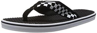 Vans La Costa, Men's Flip-Flops, White/Black, 6 UK