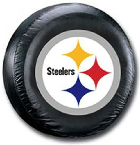 Pittsburgh Steelers NFL Deluxe Tire Cover (Steeler Tire Covers compare prices)