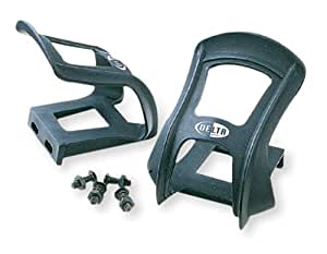 Delta Cycle Bicycle Toe Clips, Strapless Set