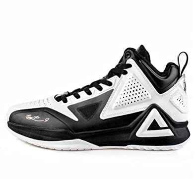 PEAK Mens NBA Series Tony Parker I Leather Basketball Shoes by Peak