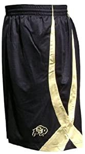Nike Colorado Buffaloes College 10 Inseam Black Fly High Durasheen Shorts by Nike