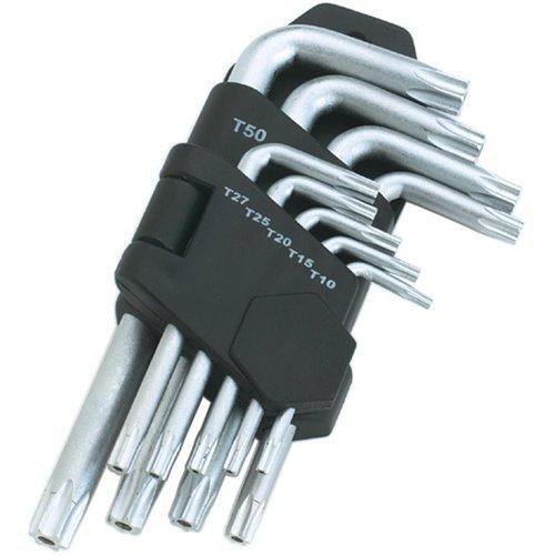 Grizzly H0486 9 pc Torx reg Key SetB0000DD14D : image