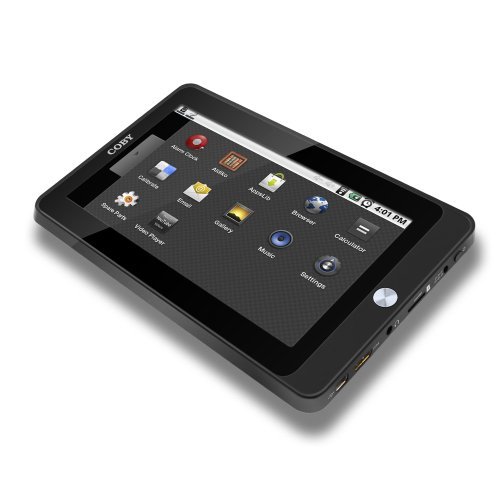 Coby Kyros MID7015 7-Inch Android  Internet Touchscreen Tablet - Black