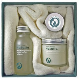 Beautiful Pregnant Body Box - Total Nurture - Prenatal Anti Stretch Mark Butter - Leg Refresher - Beautiful Body Scrub