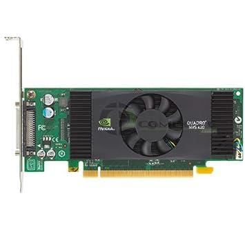 Dell nVidia Quadro NVS 420 NVS420 512MB 4 Quad