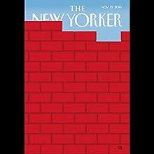 The New Yorker, November 21st 2016 (Amy Davidson, Toni Morrison, Jill Lepore) Periodical by Amy Davidson, Toni Morrison, Jill Lepore Narrated by Dan Bernard, Christine Marshall