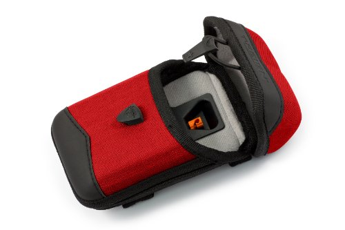 T-Reign Procase Rigid Nylon Case With Retractable Gear, Tether Hook And Loop Attachment, X-Large, Red