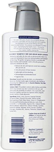 适合糖尿病患者,Eucerin Diabetics' Dry Skin Relief 保湿身体乳 500ml图片
