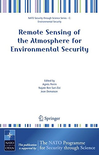 Remote Sensing of the Atmosphere for Environmental Security (Nato Security through Science Series C:)